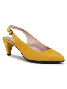 ECCO Sandały Shape 45 Pointy Sleek 26444305366 Żółty