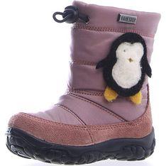 Buty zimowe dziecięce Naturino wiązane