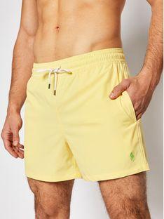 Polo Ralph Lauren Szorty kąpielowe Traveler 710837404 Żółty Slim Fit