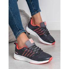 Sneakersy damskie CzasNaButy sznurowane gładkie płaskie sportowe