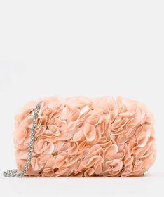 Różowa kopertówka damska