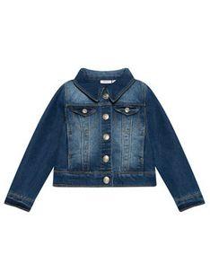 NAME IT Kurtka jeansowa 13141427 Niebieski Regular Fit