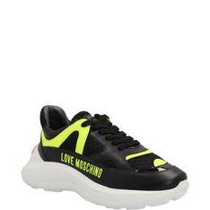 Love Moschino Skórzane sneakersy RUNNING60
