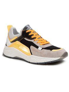 Crime London Sneakersy Komrad 2.0 11202PP2.90 Szary