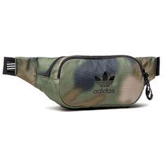 Saszetka nerka adidas - Camo Waistbag GN3187  Hemp/Wilpin/Black