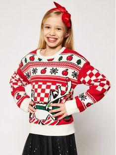 Little Marc Jacobs Sweter W15529 S Czerwony Regular Fit
