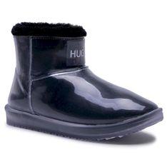 Kalosze HUGO - Cozy Bootie-TR 50447289 10233134 01 Black 001
