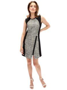 Sukienka z asymetrycznym suwakiem Desigual HELI