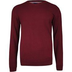 Sweter męski czerwony Adriano Guinari