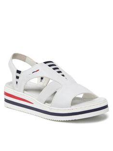 Rieker Sandały V02Y5-80 Biały
