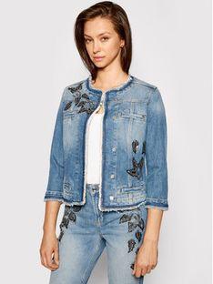 Liu Jo Kurtka jeansowa UA1033 D4598 Granatowy Regular Fit