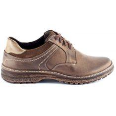 KOMODO Zimowe buty męskie 835F brązowe