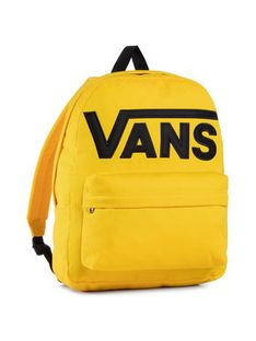 Vans Plecak Old Skool III B VN0A3I6R85W1 Żółty