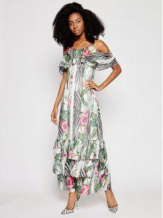 Guess Sukienka letnia Agathe W1GK1F WDW52 Kolorowy Regular Fit