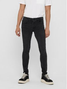 ONLY & SONS Jeansy Warp 22018260 Szary Skinny Fit