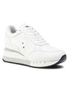 Blauer Sneakersy F0CHARLOTTE05/LEA Biały