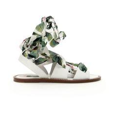 Portofino płaskie sandały