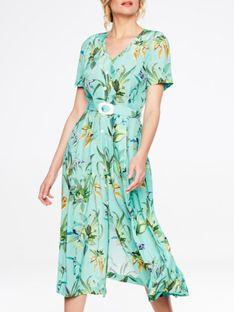 Sukienka szmizjerka w liście L'AF TEXAN