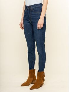Levi's® Jeansy Mile High 22791-0116 Granatowy Super Skinny Fit