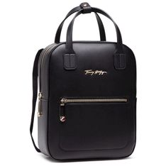 Plecak TOMMY HILFIGER - Iconic Tommy Backpack AW0AW09661 BDS