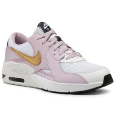 Buty NIKE - Air Max Excee Gs CD6894 102 White/Metallic Gold/Iced Lilac