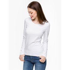 """Silesia Jeans """"Classic L01E Women L/S"""" White"""