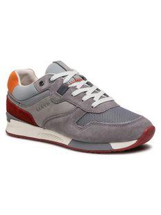 Lloyd Sneakersy Elmar 11-408-11 Szary