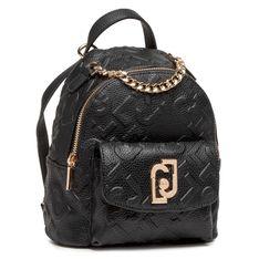 Plecak LIU JO - Xs Backpack AA1343 E0538 Nero 22222