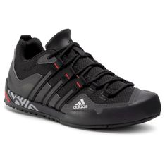 Buty adidas - Terrex Swift Solo FX9323  Grey Six/Core Black/Scarlet