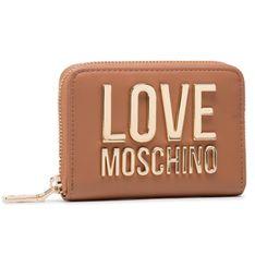 Mały Portfel Damski LOVE MOSCHINO - JC5612PP1CLJ020A Cammello