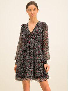 Guess Sukienka codzienna W01K70 W8SL0 Czarny Relaxed Fit