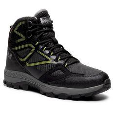 Trekkingi JACK WOLFSKIN - Downhill Texapore Mid M 4043871 Black/Lime