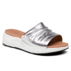 Klapki CAPRICE - 9-27203-26 Silver Metal. 920
