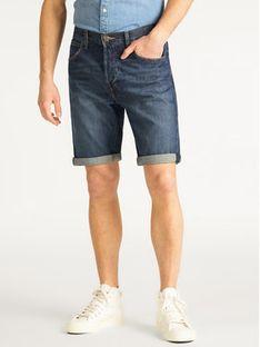 Lee Szorty jeansowe 5Pocket L73ELJGH Granatowy Regular Fit