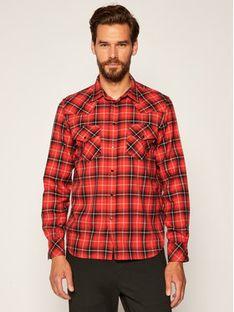 Diesel Koszula East Long 00S96C 0SAXQ Czerwony Regular Fit