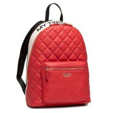 Plecak MY TWIN - Zaino 202MA7071 Mul.Nero/Bianco/Ciliegia 05318