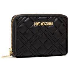 Duży Portfel Damski LOVE MOSCHINO - JC5602PP1CLA0000  Nero