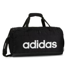 Torba adidas - Lin Duffle S FL3693  Black/Black/White