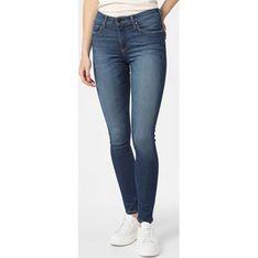 Jeansy damskie Pepe-jeans niebieski