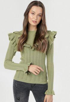 Zielony Sweter Himenohre