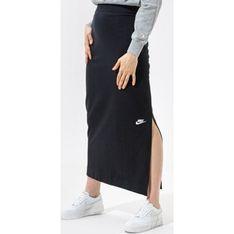 Spódnica czarna Nike maxi