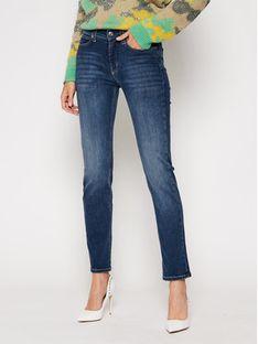Calvin Klein Jeansy Slim Fit Mid Rise K20K202409 Granatowy Slim Fit