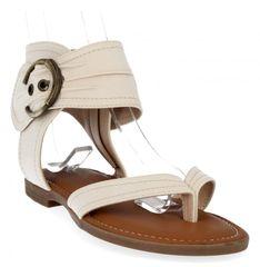 Beżowe uniwersalne sandały damskie firmy Lady Glory (kolory)