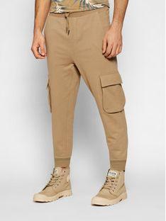 ONLY & SONS Spodnie dresowe Kian 22019485 Brązowy Regular Fit