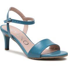 Sandały damskie Ryłko eleganckie z klamrą