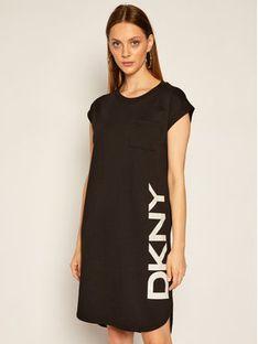 DKNY Sukienka codzienna P0RD1B2J Czarny Regular Fit