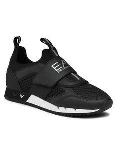 EA7 Emporio Armani Sneakersy X8X066 XK199 N441 Czarny