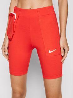 Nike Szorty rowerowe Sportswear Tech Pack CU5785 Czerwony Slim Fit
