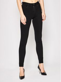 Liu Jo Jeansy Slim Fit UXX037 D4199 Czarny Slim Fit