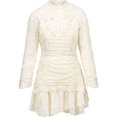 Sukienka LoveShackFancy jedwabna